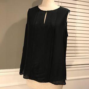 talbots sleeveless blouse
